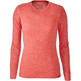 Patagonia W's Capilene Daily LS T-Shirt Maraschino-Peak Pink X-Dye